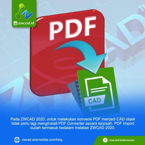 PDF Import : dari PDF menjadi CAD