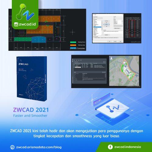 ZWCAD 2021 telah dirilis