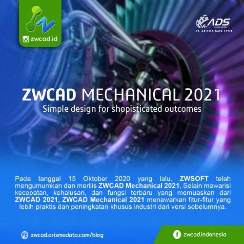 ZWCAD Mechanical 2021 - Fitur terbaru