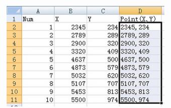 Membuat Kurva di ZWCAD dengan Cepat menggunakan Ms. Excel